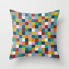 Colour Block #2 Throw Pillow