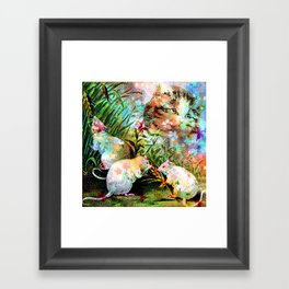 3 BLIND MICE Framed Art Print