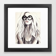 Can't Remember His Name Framed Art Print