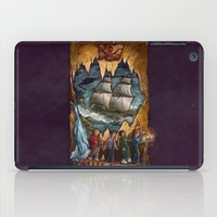 the goonies iPad Cases featuring Goonies Never Say Die by Taylor Rose