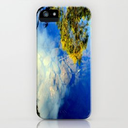Reflections from Above! iPhone Case