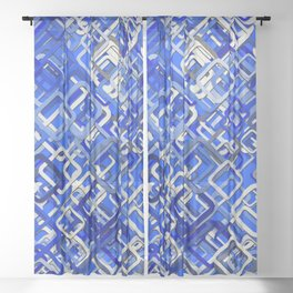 Interdependence Sheer Curtain