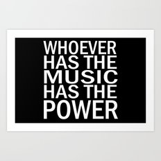 The Power of Music Art Print
