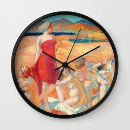 Odysseus Awakening - Digital Remastered Edition Wall Clock