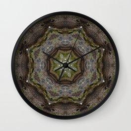 Wooden Star Wall Clock