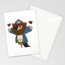 Pirate Love Stationery Cards