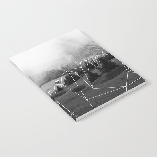 Crystal Hut I Notebook