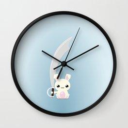 Kawaii Bunny Wall Clock