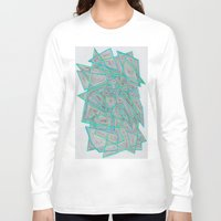 darren criss Long Sleeve T-shirts featuring Criss-Cross by Stro