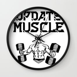 Update muscle Wall Clock