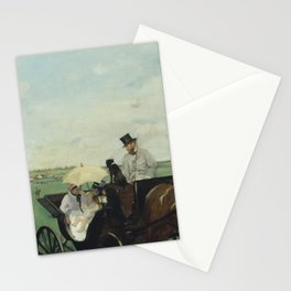 At the Races in the Countryside Stationery Cards