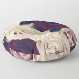 rose bouquet Floor Pillow