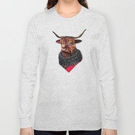 Highland Cow Long Sleeve T-shirt