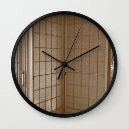 Shoji Wall Clock