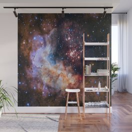picture of star by hubble: celestial firework Wall Mural