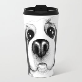 Sketch of a Spaniel who wants his belly rubbed! Travel Mug