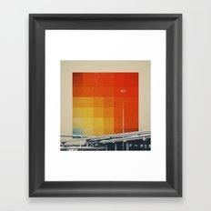 Orange Crush I Framed Art Print