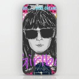(Girl Boss - Britt Robertson) - yks by ofs珊 iPhone Skin