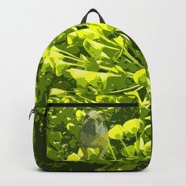 Green Pug Backpack