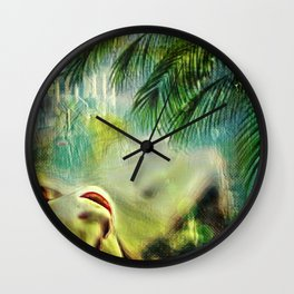 Undergrowth Wall Clock