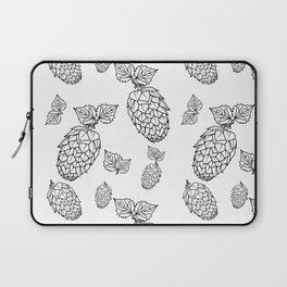 Hops pattern with leafs Laptop Sleeve