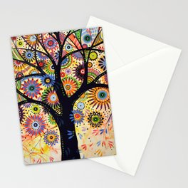 Abstract Art Landscape Original Painting .... Life Giver Stationery Cards