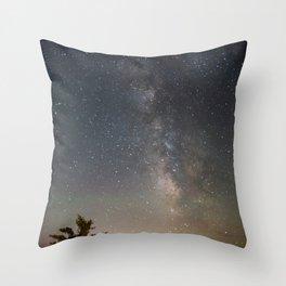 South Lake Tahoe Milky Way Throw Pillow