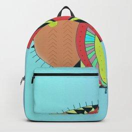 the tamborin fish or puffer fish Backpack