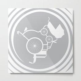 LifeCycle (spiral) Metal Print