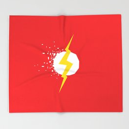 Square Heroes - Flash Throw Blanket