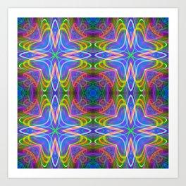 trip tile Art Print