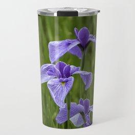Sankeien Garden Iris Travel Mug