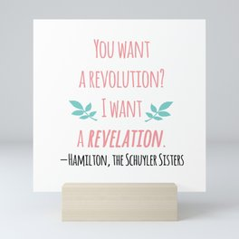 THE SCHUYLER SISTERS   HAMILTON Mini Art Print