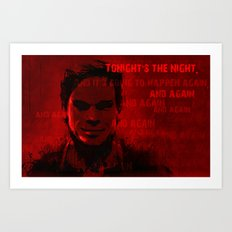 Tonight's the Night Art Print
