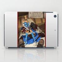 cinderella iPad Cases featuring Cinderella  by Jeanine Henning