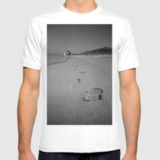 Dad Mens Fitted Tee White MEDIUM