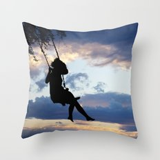 Her dreams are perfect Throw Pillow