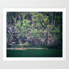 Outskirts of Emotion Art Print