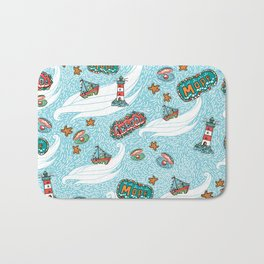 About the sea Bath Mat