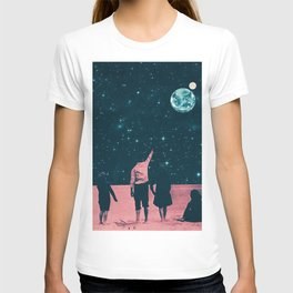 Once Upon A Time on Mars or Children of Mars T-shirt