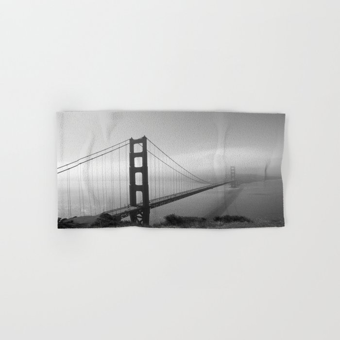 The Golden Gate Bridge In A Mist Hand & Bath Towel