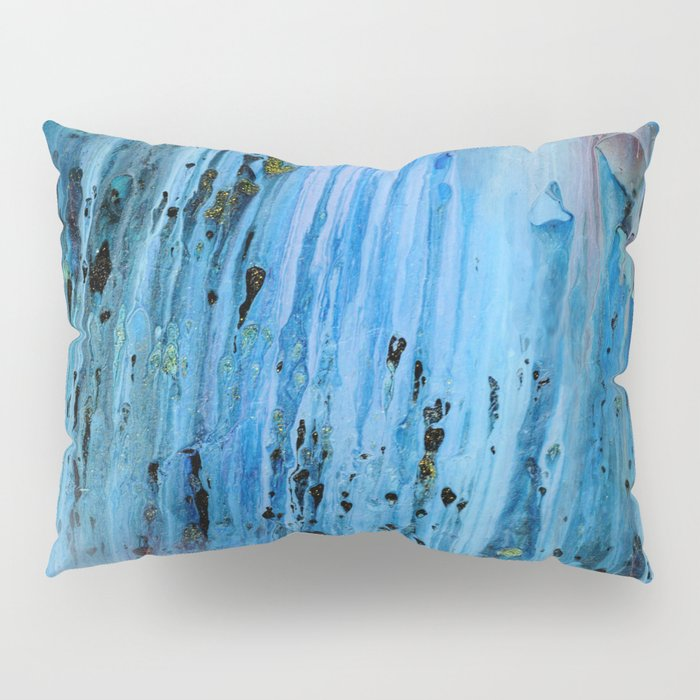 Blue Cave Pillow Sham