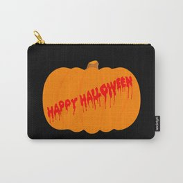 Totaly Evil Halloween Pumpkin Carry-All Pouch