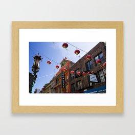 China Town San Francisco Framed Art Print