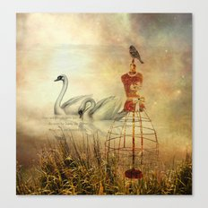 Grace and strength adorn her Canvas Print