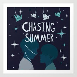 Chasing Summer Art Print