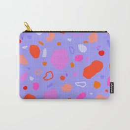 Sweet Terrazzo Cherries Carry-All Pouch