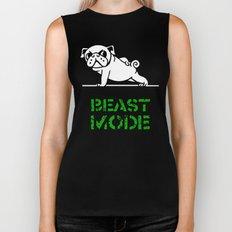 Beast Mode Pug Biker Tank