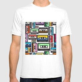 Cassette Vinyl Record  T-shirt