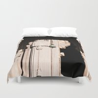 tinker bell Duvet Covers featuring Entrance Bell  by Four Hands Art